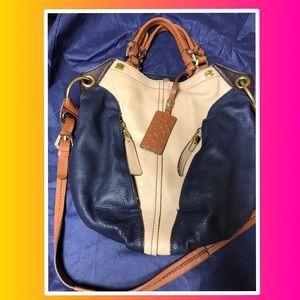 100% leather hobo bag